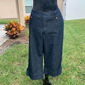 Lee Just Below the Waist Cropped Jeans